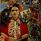 """Homage to Frida""  by bohemianartist"