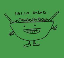 Hello Salad by Ollie Brock