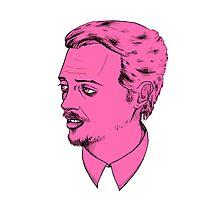 Mr. Pink Photographic Print