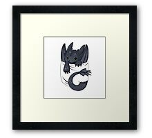 Dragon in your pocket Framed Print