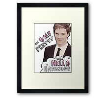 Fancy Benedict Framed Print