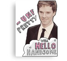Fancy Benedict Canvas Print