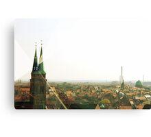 Nurnberg, Germany Skyline Canvas Print