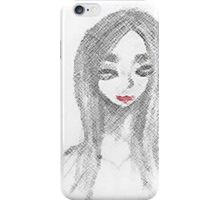 Achromatic Kiss iPhone Case/Skin