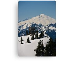 Lookout Mountain, Lookout Tower with Mt. Baker  Canvas Print