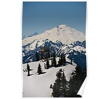 Lookout Mountain, Lookout Tower with Mt. Baker  Poster