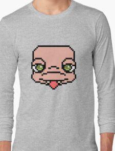 16-Bit Heartland-tan Long Sleeve T-Shirt