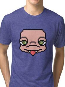 16-Bit Heartland-tan Tri-blend T-Shirt