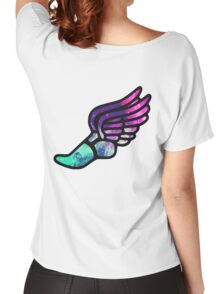 Galaxy Track Logo Women's Relaxed Fit T-Shirt