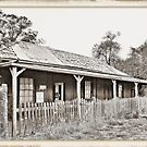 Telegraph Station and Post Office: Bimbi: 1883 by George Petrovsky