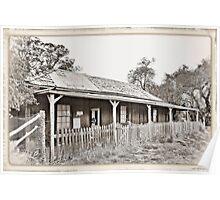 Telegraph Station and Post Office: Bimbi: 1883 Poster