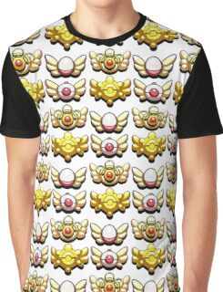 All Mystery Dungeon Badges Graphic T-Shirt