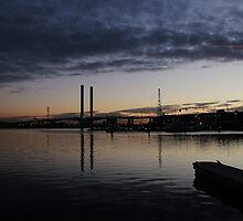Harbour at Dusk - Melbourne by brendanscully
