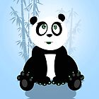 Panda Girl - Blue by Adamzworld