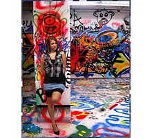 Columbia's Graffiti Room Photographic Print
