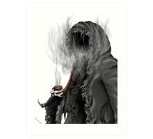 "Grim Reaper ""Still Smoking"" Art Print"