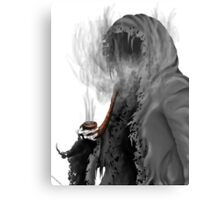 "Grim Reaper ""Still Smoking"" Metal Print"
