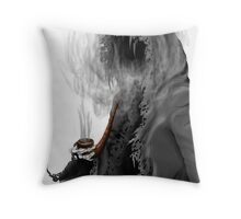 "Grim Reaper ""Still Smoking"" Throw Pillow"
