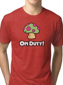 On Duty Shroom Tri-blend T-Shirt