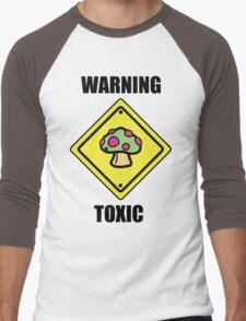 Toxic Shroom Men's Baseball ¾ T-Shirt