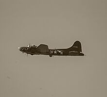 B-17 in Flight by Rimrunner
