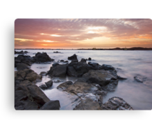 Dampier Sunsets Canvas Print