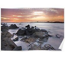 Dampier Sunsets Poster