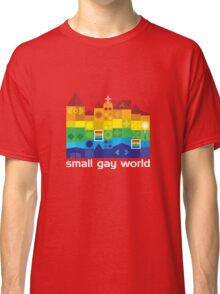 Small Gay World - Dark Background Classic T-Shirt