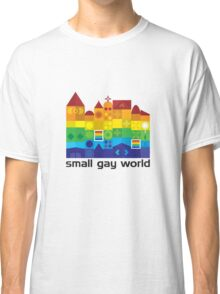 Small Gay World - Light Background Classic T-Shirt