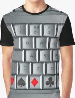On-line Casino Graphic T-Shirt