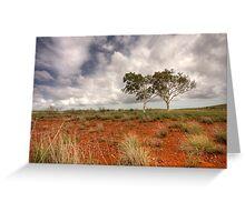 Love Trees Greeting Card