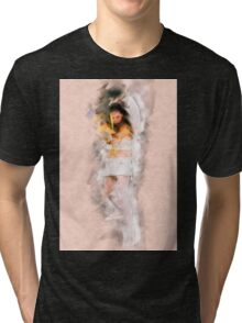 Cupid (Greek Eros) the god of desire, affection and erotic love In Roman mythology, Tri-blend T-Shirt