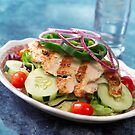 Grilled Chicken Salad by Franz Diegruber