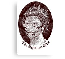 The Reptilian Elite Canvas Print