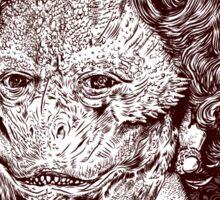 The Reptilian Elite Sticker
