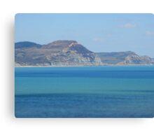 Bejewelled Sea Canvas Print