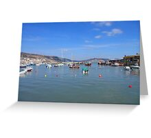 Harbour Heaven Greeting Card