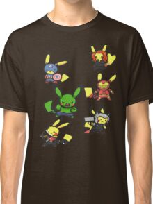 Pikachu Avengers Classic T-Shirt
