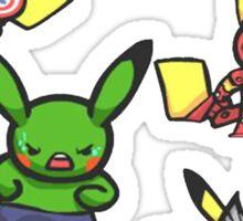 Pikachu Avengers Sticker