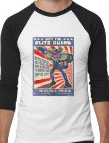 Elite Guard Men's Baseball ¾ T-Shirt