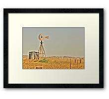 Karratha Station Framed Print