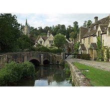 The English Village of Castle Combe, England Photographic Print