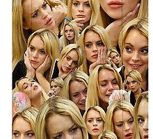 Lindsay Lohan by hatecrew