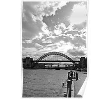 Tyne Bridge in sunshine Poster
