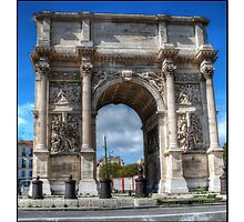 Arch of Triumph marseille by ivanisin