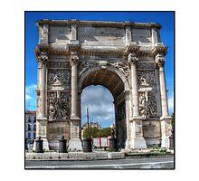 Arch of Triumph marseille Photographic Print