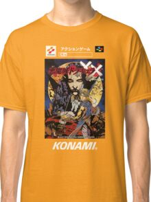 Castlevania Akumajo Dracula X Nintendo Super Famicom Japanese Box Art Classic T-Shirt
