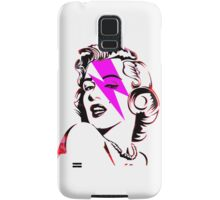 Pink Flash Marilyn Stardust  Samsung Galaxy Case/Skin