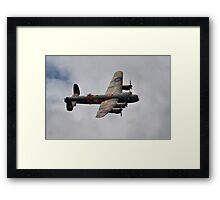 Dambusters 70 Years On - BBMF Lancaster - HDR Framed Print