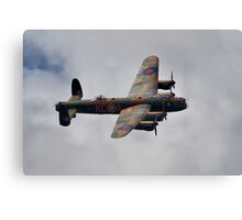 Dambusters 70 Years On - BBMF Lancaster - HDR Canvas Print